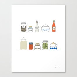 In my Pantry Canvas Print