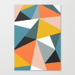 Modern Geometric 36 Canvas Print