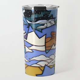 FROM SEA TO SEA TO SEA Travel Mug