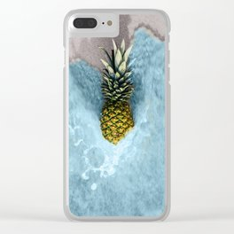 Pineapple Clear iPhone Case