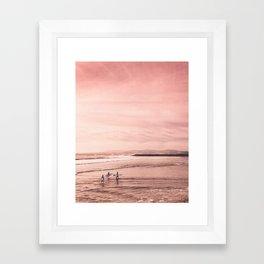 See You Tomorrow Framed Art Print