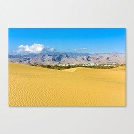 The desert 1.1 Canvas Print