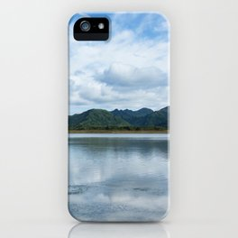 Cloud Reflections Photography Print iPhone Case