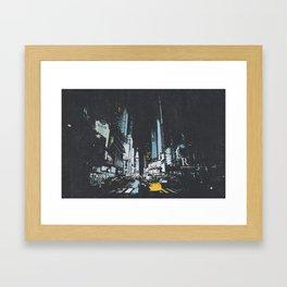 Times Square New York City Framed Art Print