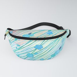 Creeping Flower & Leaves 7 Fanny Pack