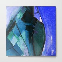 Abstraction 317I by Kathy Morton Stanion Metal Print