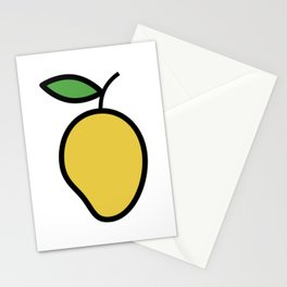 Mango Lover Design Cute And Funny Food Gift Idea Love Mangos Stationery Cards