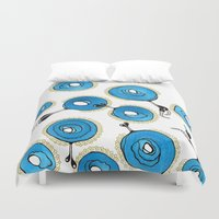 classy Duvet Covers featuring Classy by Gosia&Helena