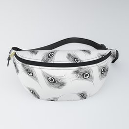 Peacock feathers Fanny Pack