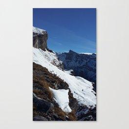 Gemmipass above Leukerbad, Valais, Swiss Alps IV Canvas Print