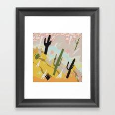 Desert Dream Design Framed Art Print