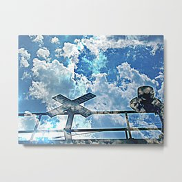 A Place In The Clouds Metal Print