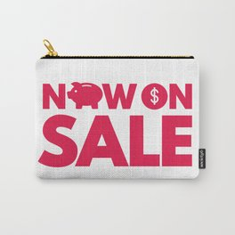 Everything Is On Sale Carry-All Pouch