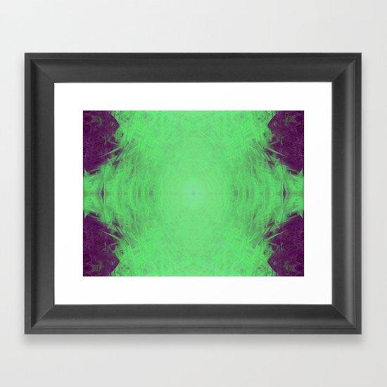 Alien Energy Framed Art Print