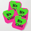 80s Child Pink and Green Fluorescence by artweb