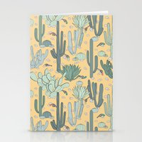 guns Stationery Cards featuring Succulent Guns by LaPenche