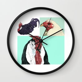 Flock No. 1 Wall Clock