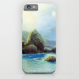 Coast Of The Sea 1899 By Lev Lagorio   Reproduction   Russian Romanticism Painter iPhone Case