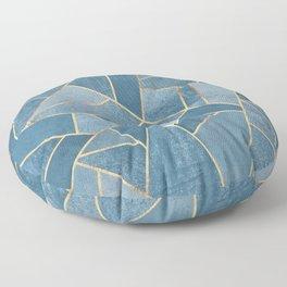 Dusk Blue Stone Floor Pillow
