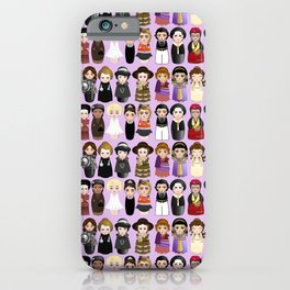 Kokeshis Women in the History 2.0 iPhone Case