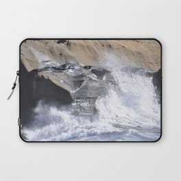 SPLASHING OCEAN WAVE Laptop Sleeve