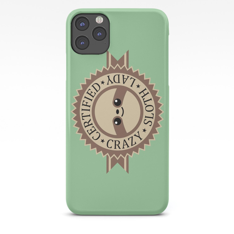 Crazy GOAT lady iPhone 11 case