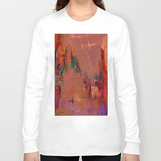And the day begins Long Sleeve T-shirt