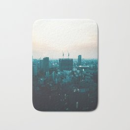 Osaka morning Bath Mat