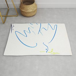 Pablo Picasso - Dove of Peace - Digital Remastered Edition Rug