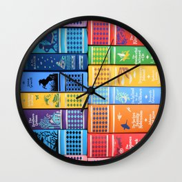 Leather Bound Classic Series - Part 1 Wall Clock