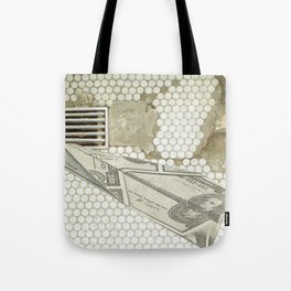 Money Down the Drain Tote Bag