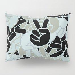 Peace Sign Camo Pillow Sham