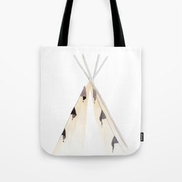 Wanderlust Tent - Hiking Adventure Tote Bag