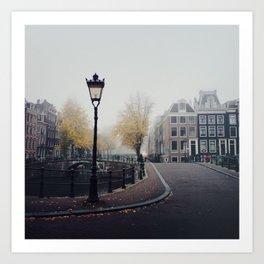 Amsterdam mornings Art Print