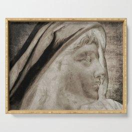 Lady Angel Celestial Woman Spiritual Art A145 Serving Tray