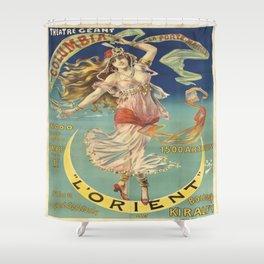 Vintage poster - L'Orient Shower Curtain