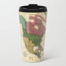 Map of North America (1826) Travel Mug