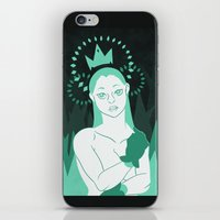 crown iPhone & iPod Skins featuring Crown by Carina rios