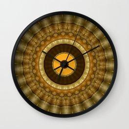 New Color Pyramidal Mandala 62 Wall Clock