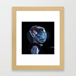 9TH WAVE Framed Art Print