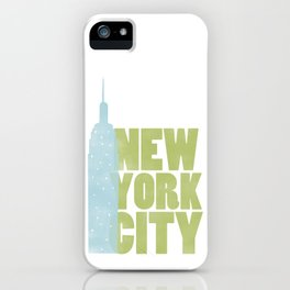 New York City - Empire State iPhone Case