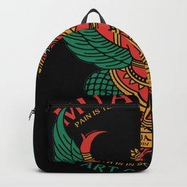 Muay Thai Sak Yant Garuda Backpack
