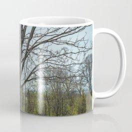 Rock in a tree in Port Hope Coffee Mug