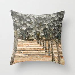 Rustic Style Throw Pillow