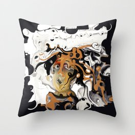 Everybody's Watching Throw Pillow