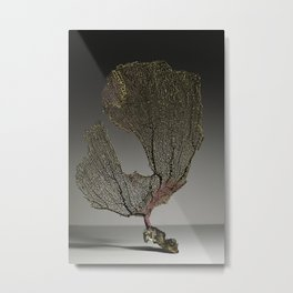 Purple Sea Fan IV Metal Print