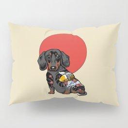 Yakuza Dachshund Pillow Sham