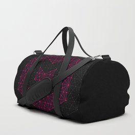 tessellated heart Duffle Bag