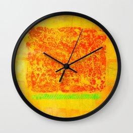 hot summer Wall Clock