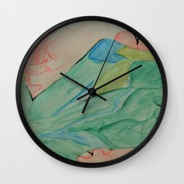 Shaped Ribbons Wall Clock